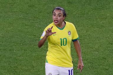 Brazilka nad Brazilce. Marta je doma mnohými fanoušky považována za jedničku své generace bez ohledu na pohlaví.