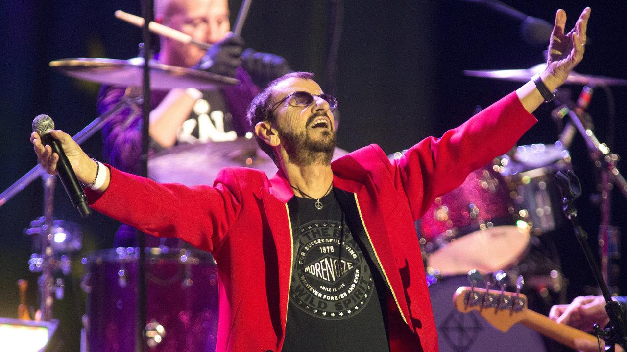 Středeční koncert Ringo Starra vefiladelfské opeře.