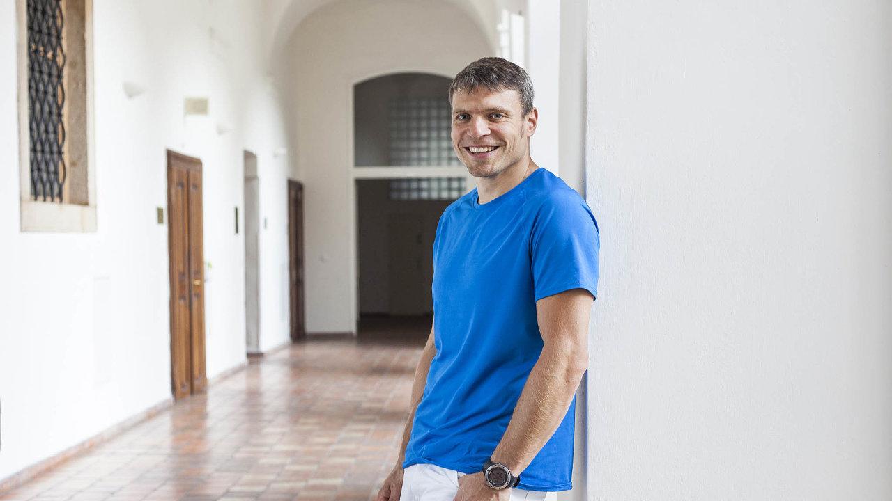 Chirurg Tomáš Šebek, spoluzakladatel on-line poradny uLékaře.cz