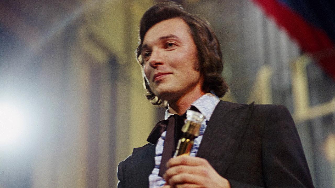 Karel Gott (na snímku z listopadu 1971)