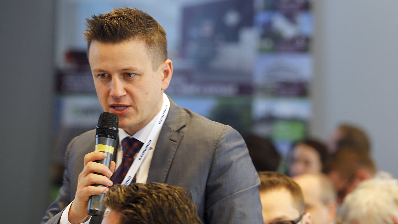David Strnad na konferenci Zóna Logistika v roce 2016