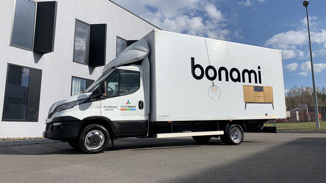 E-shop Bonami rozjel vlastní doručování.