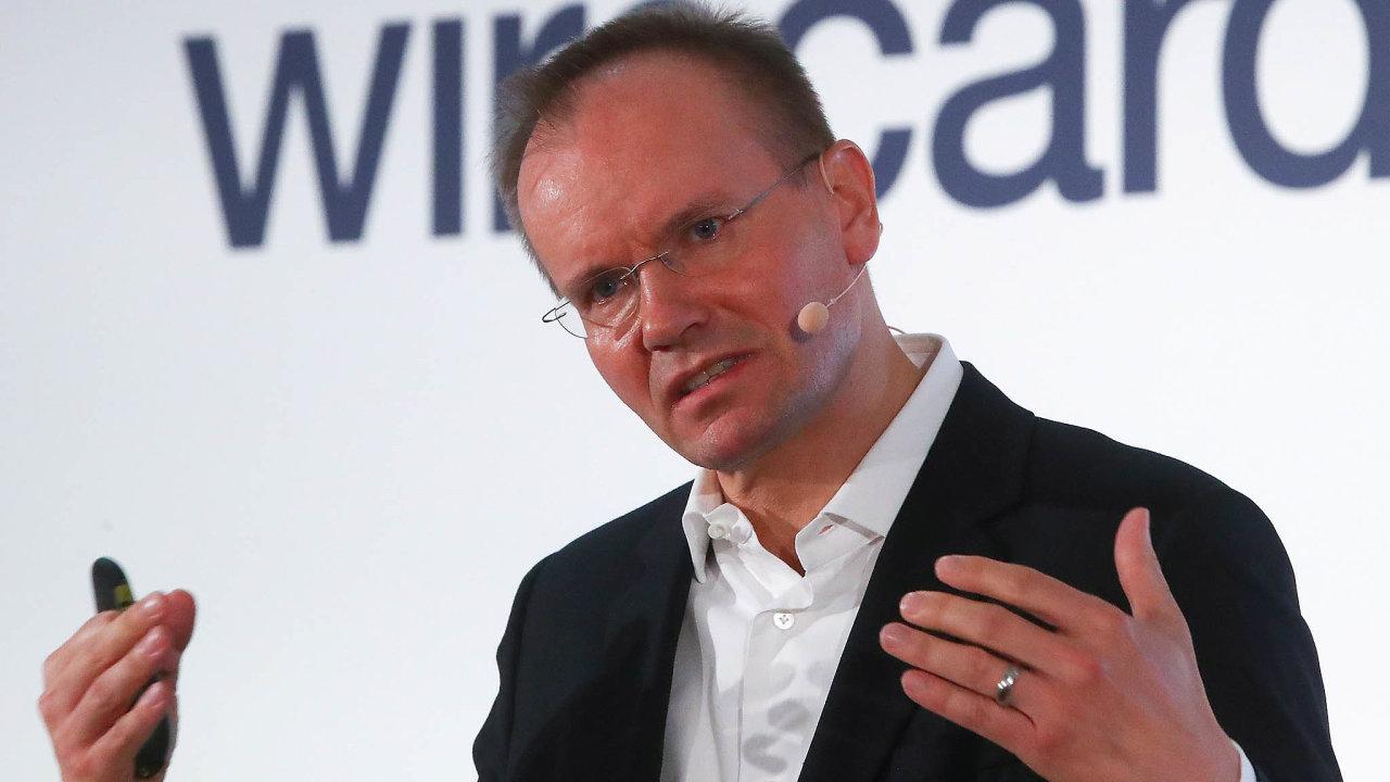 Šéf společnosti Wirecard Markus Braun čelí kritice akcionářů.