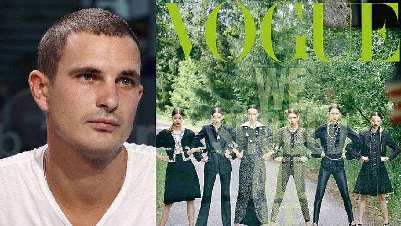 Bílé modelky na obálce Vogue? To tam rovnou mohli dát kapelu Ortel, kritizuje Kalfař