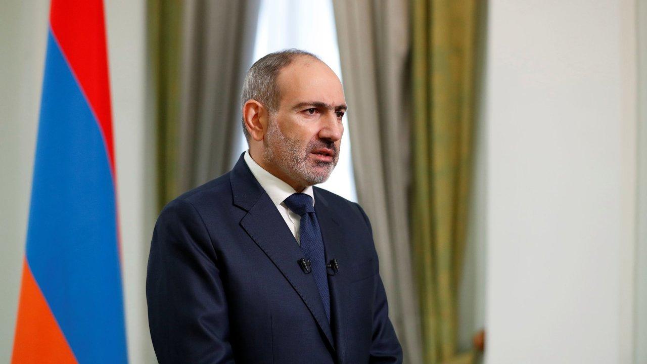 Arménský premiér Nikol Pašinjan.
