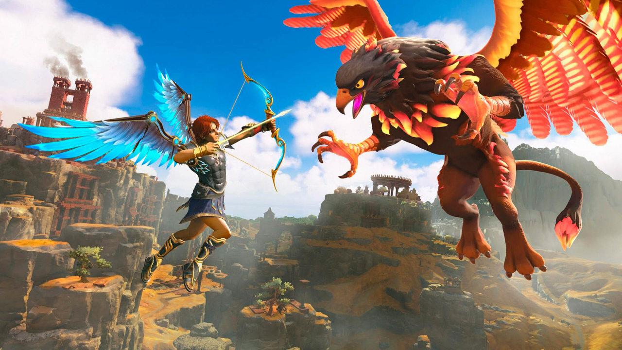 Inspirace Nintendem. Namísto fotorealistického ztvárnění světa zher typických pro Ubisoft je tu kreslená, pohádková grafika plná barev astylizovaných efektů.