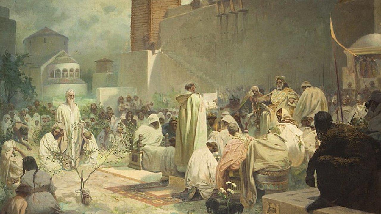 Alfons Mucha Slovanska epopej