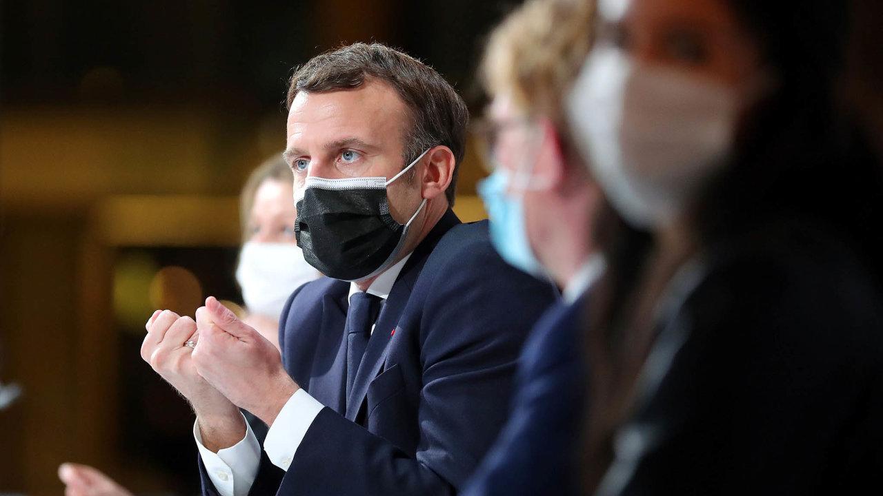 """""""Měli bychom udělat víc? Ano,"""" prohlásil kochraně životního prostředí francouzský prezident Emmanuel Macron"""