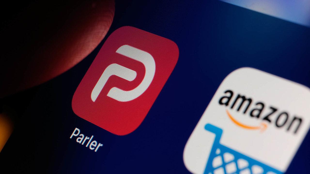 Amazon vypověděl Parleru smlouvu oposkytování serverů. Napomoc přišla ruská společnost DDoS Guard, která poskytovala hosting také fóru pro zloděje kreditních karet nebo obchodu sdrogami.