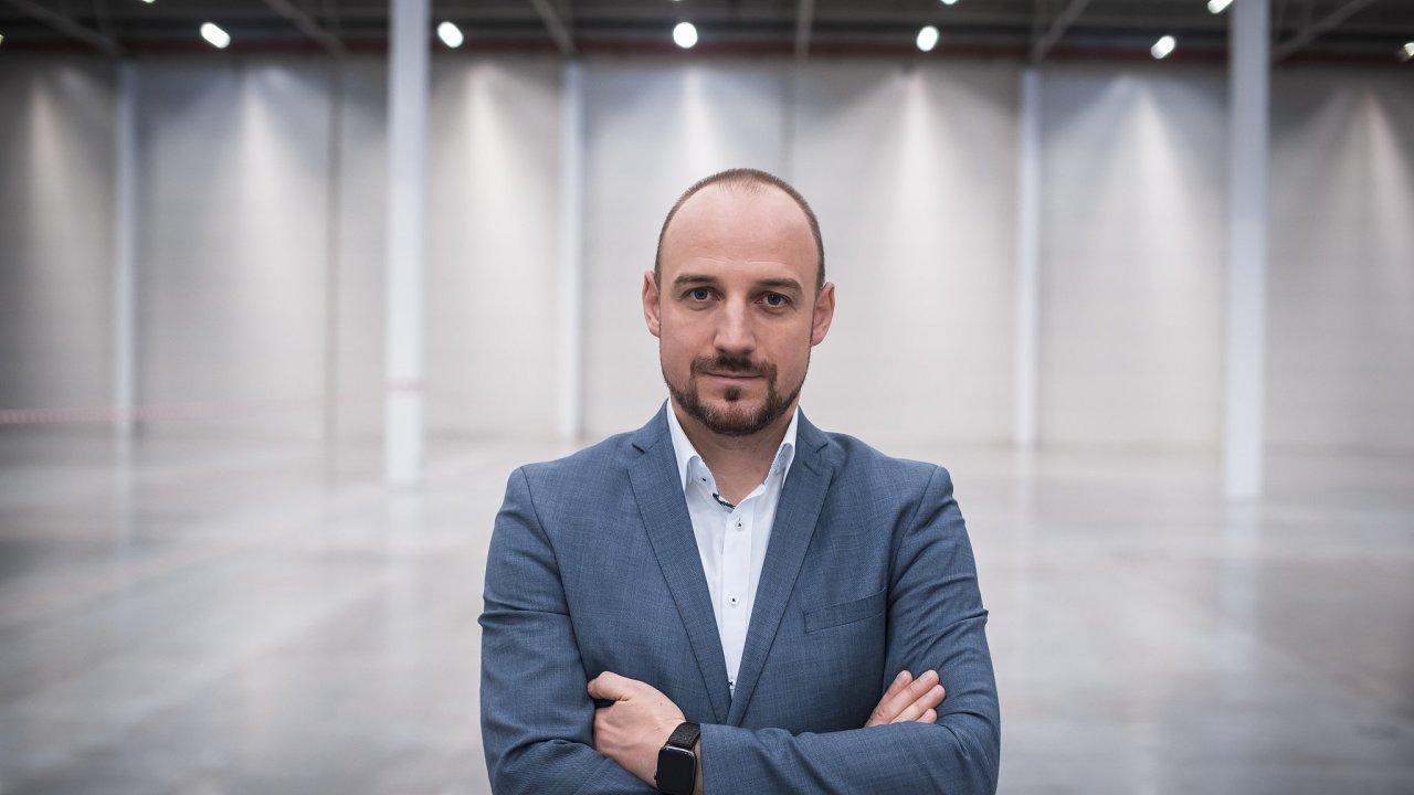 Viceprezident Prologisu a šéf firmy pro Česko a Slovensko Martin Baláž.