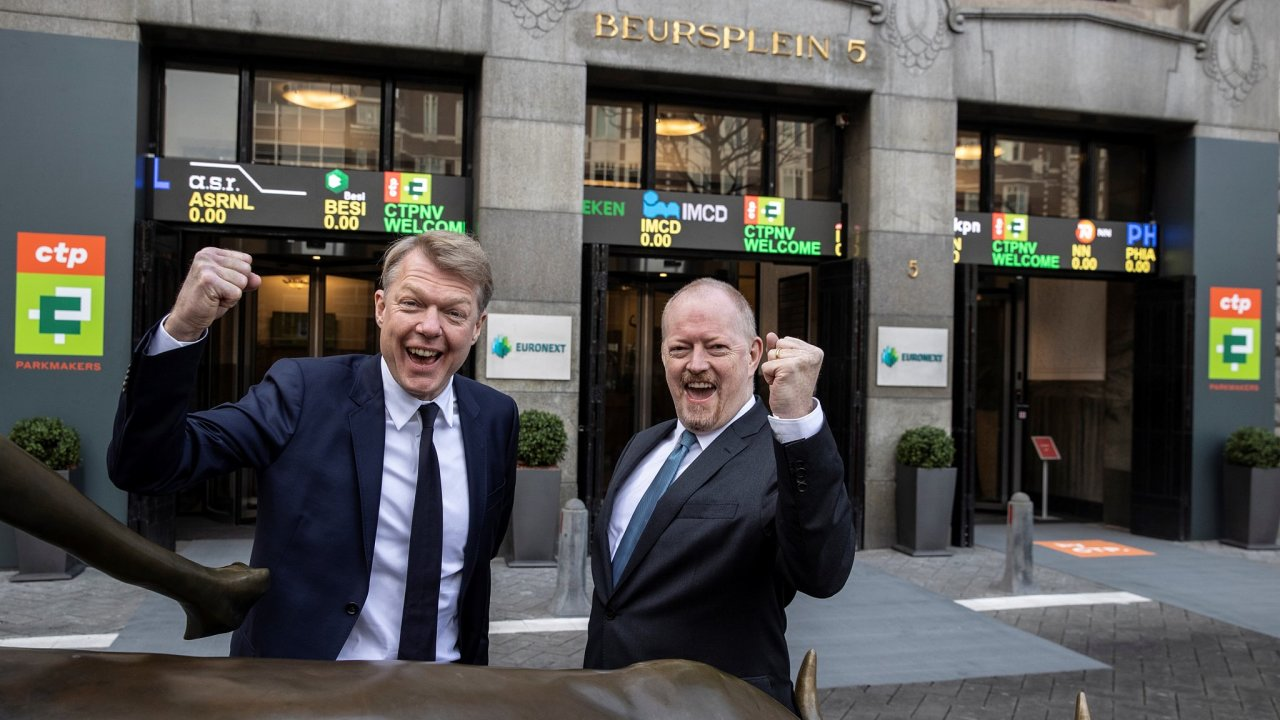 Euronext Amsterdam Listing of CTP 20210325 a