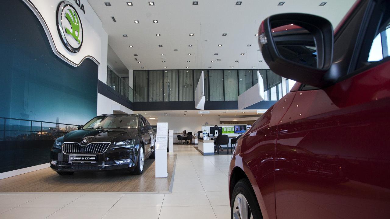 Olfin Car, autosalon, Škoda