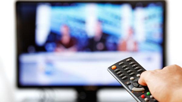 Televizn� vys�l�n�, ilustra�n� foto