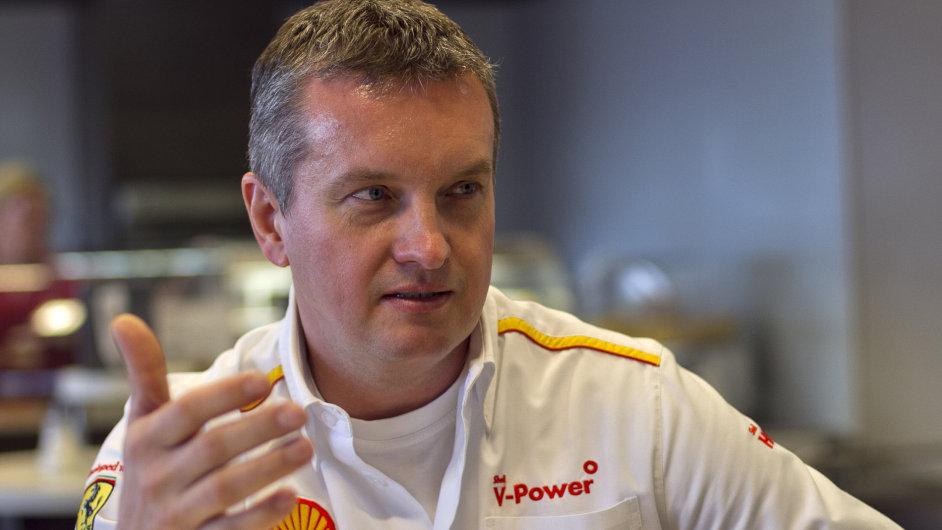 Petr Pražský, šéf čerpacích stanic Shell ve střední a východní Evropě.