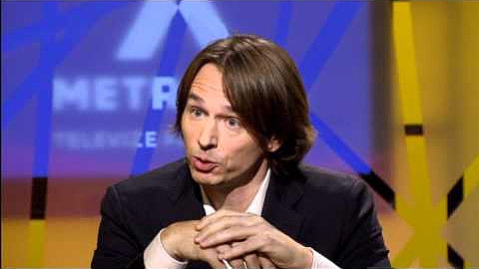 Europoslanec Edvard Kožušník na TV Metropol