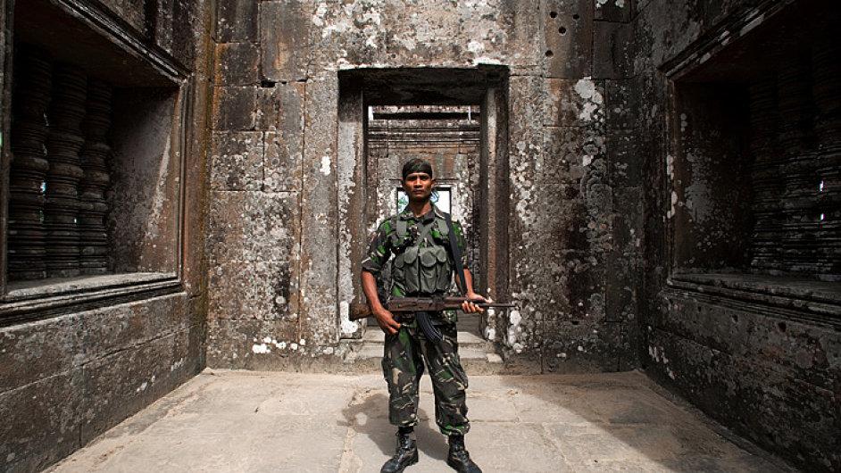Fotografie z chrámu Preah Vihear