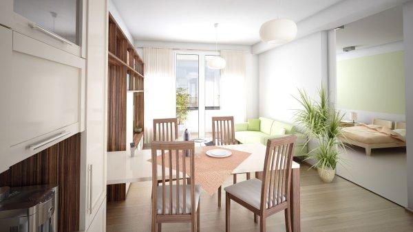Bytový dům pro seniory Rezidence RoSa v Praze-Kobylisích