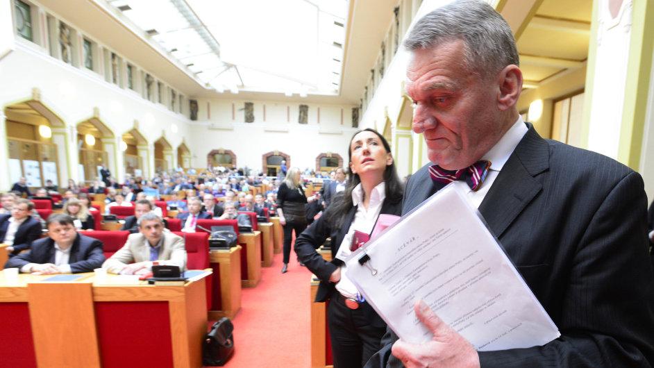 Primátor Bohuslav Svoboda před svým odvoláním