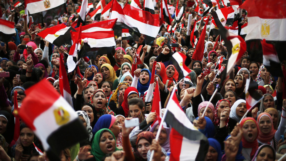 Demonstrace v Egyptě