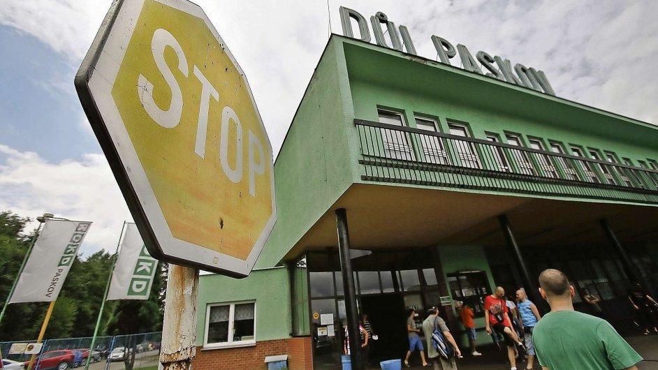 OKD se mimo jiné chystá uzavřít Důl Paskov.
