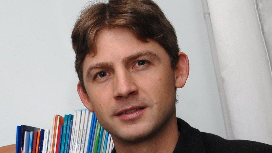 Čerstvý český europoslanec Petr Mach, na fotografii ještě jako šéf Centra pro ekonomiku a politiku