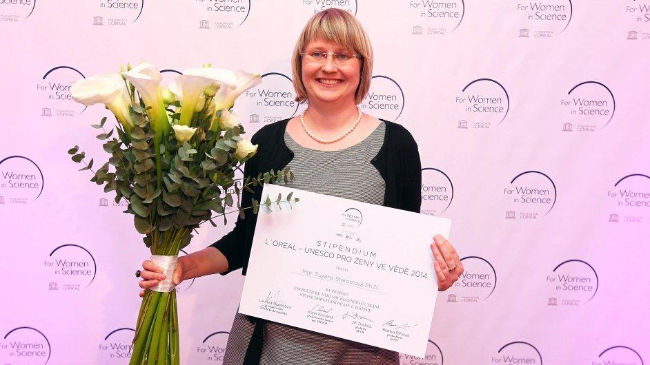 Vítězka Zuzana Starostová