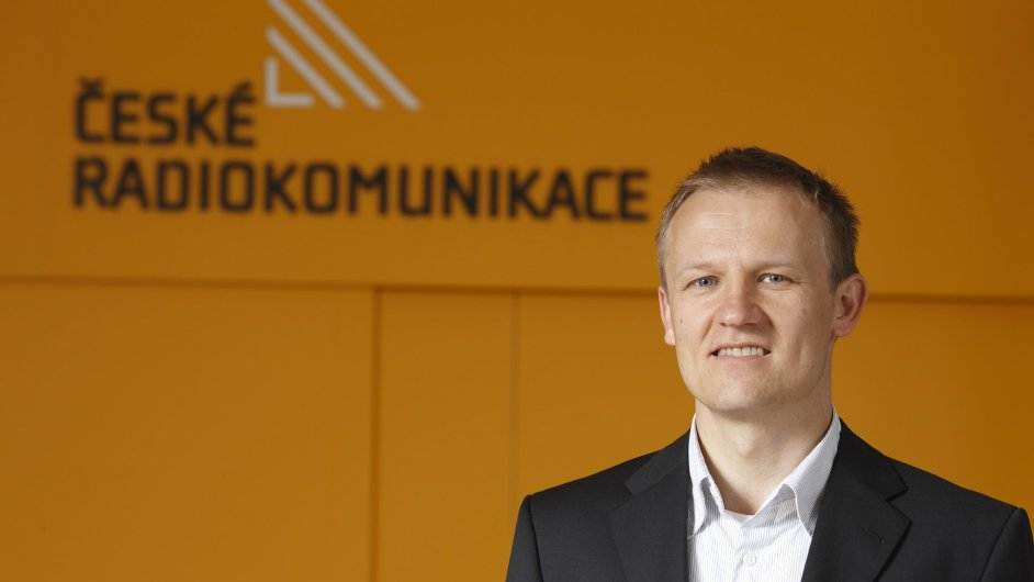 Nový generální ředitel Českých radiokomunikací Martin Gebauer