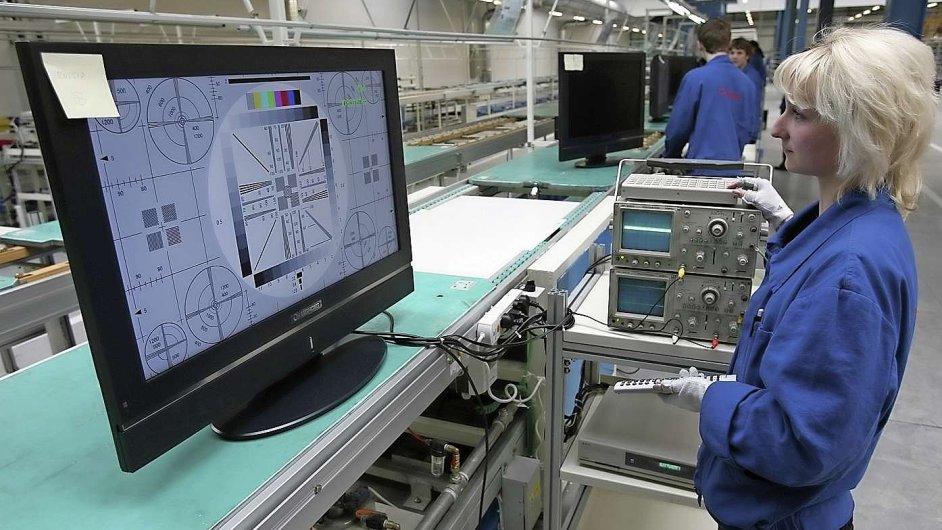 Čínská společnost Changhong Europe Electric  zahájila ve své továrně v Nymburce výrobu LCD, plazmových televizorů