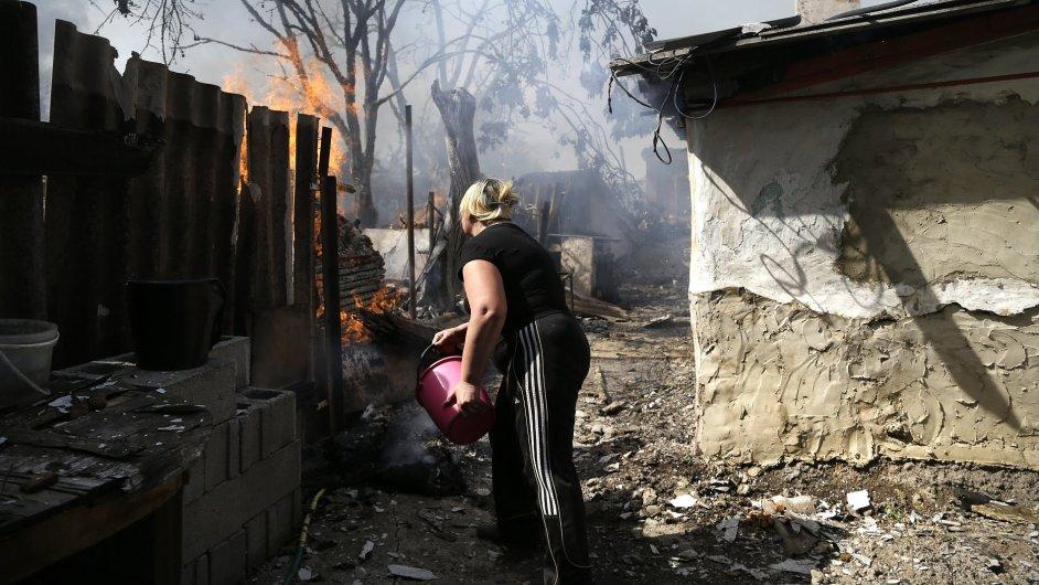 V ukrajinském konfliktu trpí nejvíce civilisté.