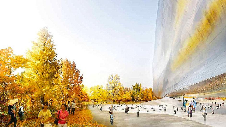 Novou budovu Národního muzea umění v Číně navrhl architekt Jean Nouvel.