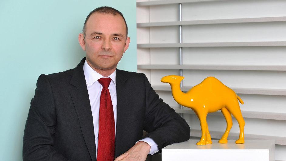 Ředitel české pobočky JTI Andrew Reay