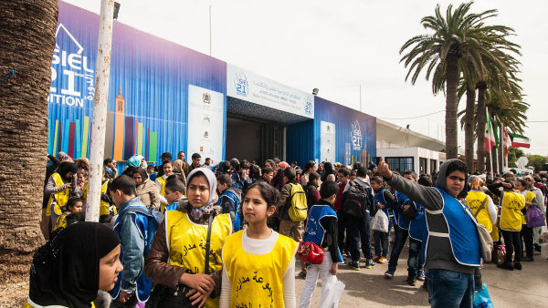 Knižní veletrh v marocké Casablance letos navštívilo 300 tisíc lidí.