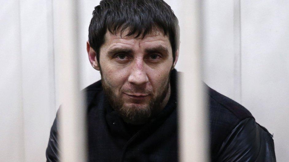 Zaur Dadajev, podezřelý z vraždy Borise Němcova
