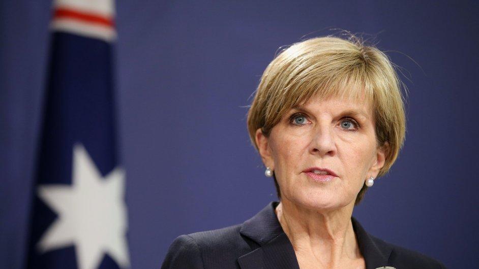 Chystané popravě mezinárodní skupiny pašeráků drog se snažila zabránit šéfka australské diplomacie Julie Bishopová