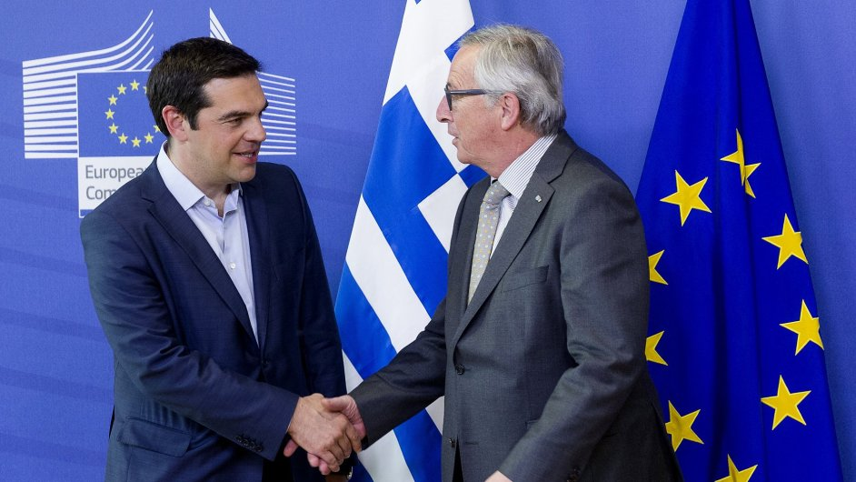Premiér Tsipras a šéf EK Juncker se kvůli Řecku sejdou znovu.