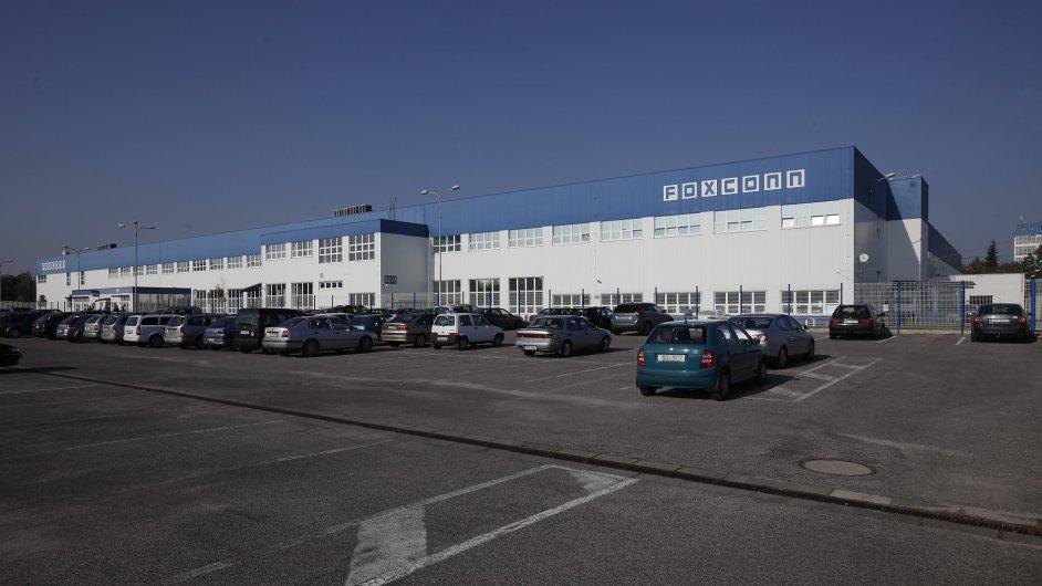 Továrna Foxconn v Pardubicích