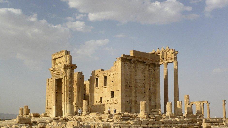 Historický Belův chrám z 1. století na snímku ze 4. srpna 2015. Jak přesně byl útokem islamistů poničen, úřady nemohou odhadnout.