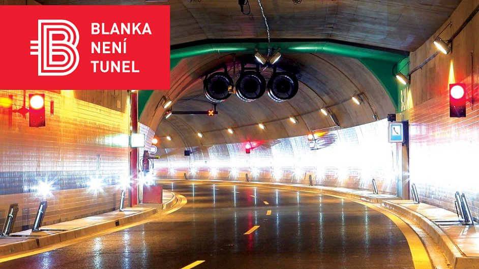 Blanka není tunel, hlásá kampaň Metrostavu.