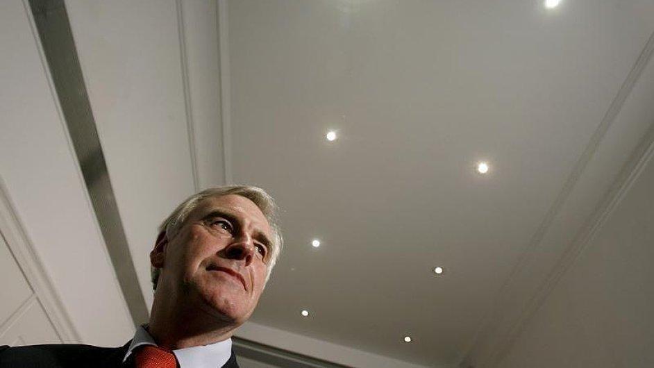 Stínový ministr financí Velké Británie John McDonnell.