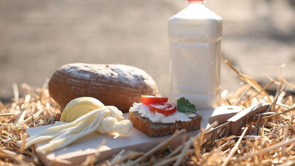 Farmářské potraviny, ilustrační foto