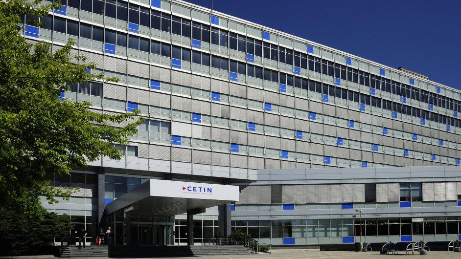 sídlo společnosti Česká telekomunikační infrastruktura, Cetin