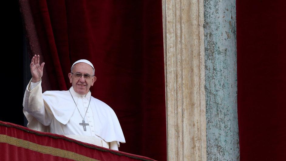 Papež František pronesl tradiční poselství Městu a světu