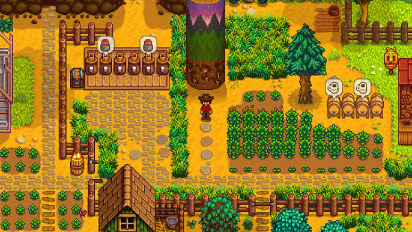 Ze hry Stardew Valley.