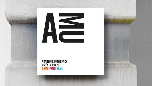 Ukázka vizuálního stylu AMU