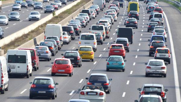 Německá dálnice.