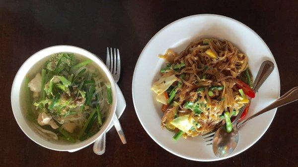 Thajské jídlo - ilustrační foto