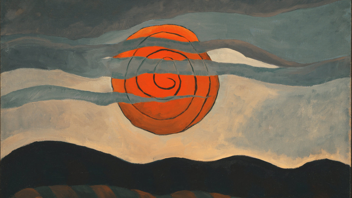 Arthur G. Dove: Red Sun, 1935