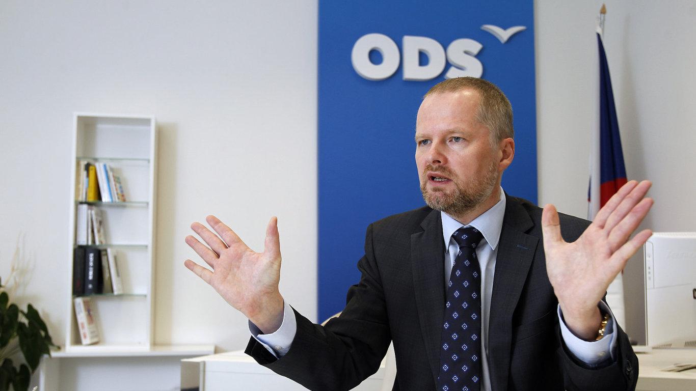 Petr Fiala - předseda ODS.