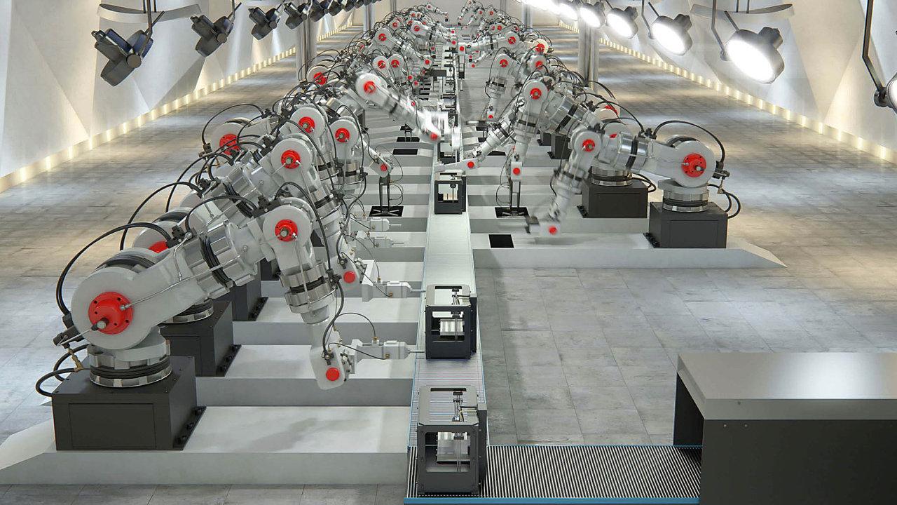 Podle konceptu Průmysl 4.0, poprvé zmíněného na veletrhu v Hannoveru 2013, se bude u strojů stále více rozvíjet schopnost vnímání svého okolí, autokonfigurace, autodiagnostika a komunikace s okolím.