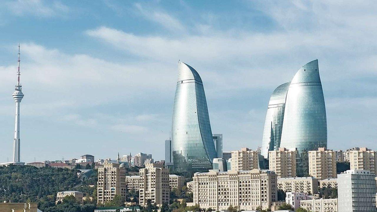 Hlavní město Ázerbájdžánu Baku
